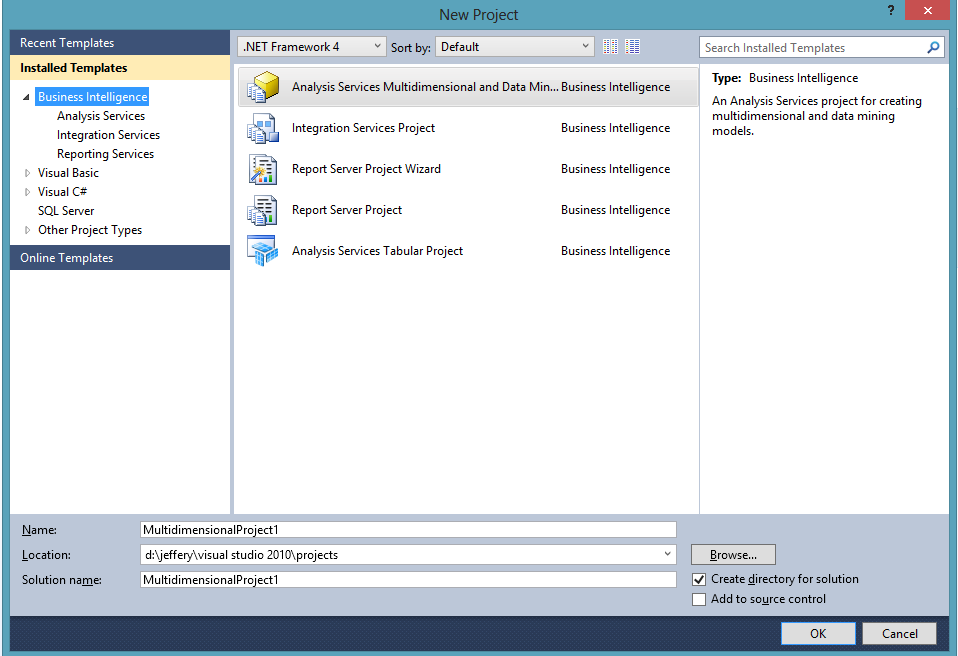 Visual studio 2012wheres my business intelligence musings on httpmicrosoften usdownloaddetailspxid36843 to download microsoft sql server data tools business intelligence for visual studio fbccfo Images