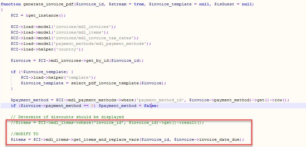InvoicePlane v1 4 10 – Enabling Date Parameters | Musings on